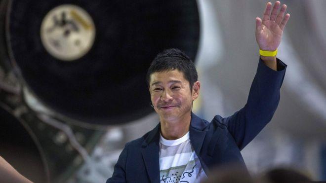 японский миллиардер
