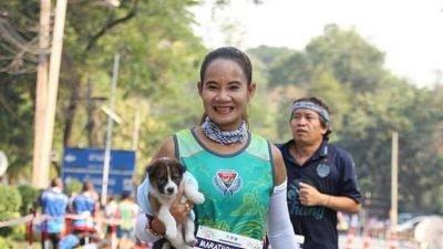 жительница Таиланда нашла потерявшегося щенка