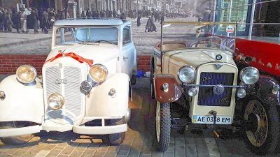 В Днепре можно увидеть авто с историей (Фото)