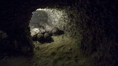 древние захоронения в Египте