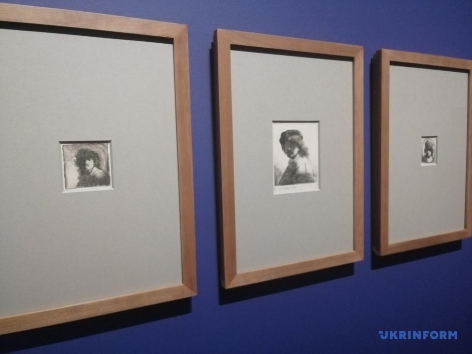 виставка робіт Рембрандта