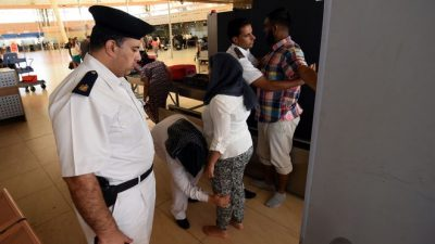 В аэропорту Шарм-эль-Шейха усиливают меры безопасности.
