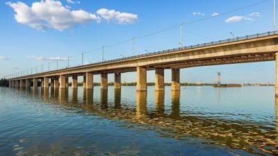 Кайдакский мост_Днепр