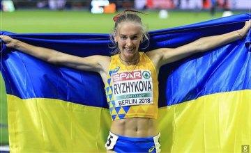 легкоатлетка Анна Рыжикова-Ярощук