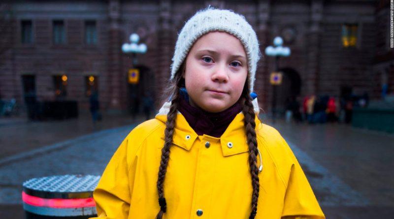 шведская школьница Грета Тунберг