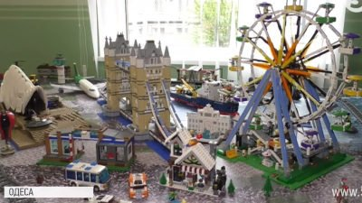 Євген Демента_колеція LEGO