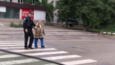 бабуся полиция