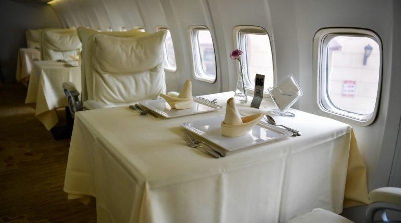 самолеты-рестораны