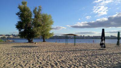 пляж Дніпро область