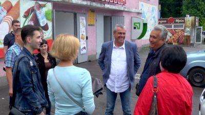 Олег Кужман зустрівся з мешканцями Кам'янського