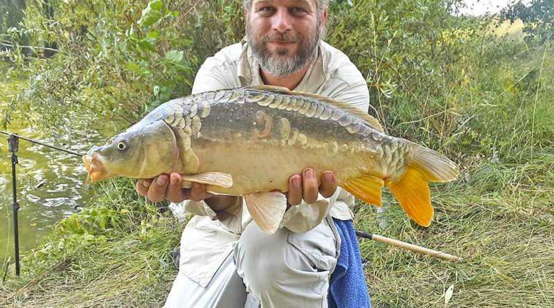 Рыбак из Днепра рассказал о рекордном улове