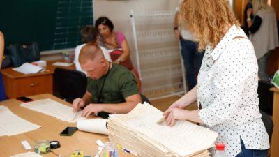 У Дніпрі на одному з виборчих округів зіпсували понад дві тисячі бюлетенів
