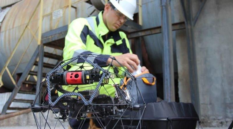 інспектування технологічного обладнання дронами