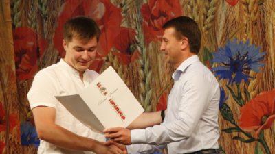 Гліб Пригунов привітав будівельників області
