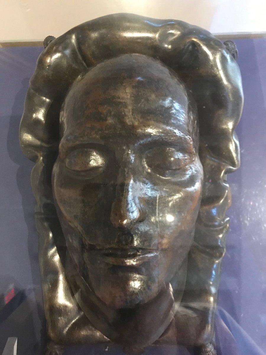 копия посметрной маски Наполеона