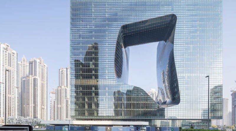 небоскреб в Дубае