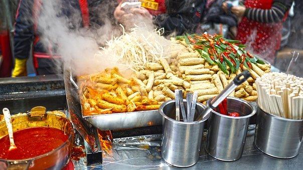 рынок еда