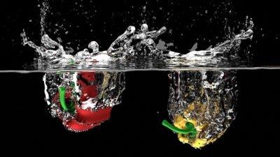 вода овощи