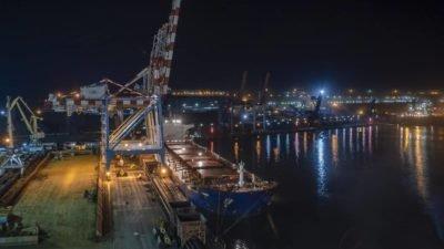 Балкер «W-Ace» привез 88 тысяч тонн угля с Колумбии порт ТИС