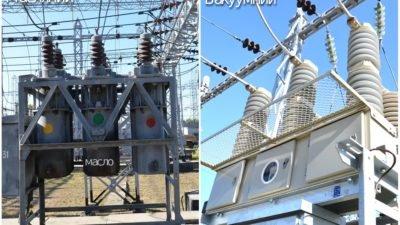 На Дніпропетровщині відмовляються від масляних вимикачів