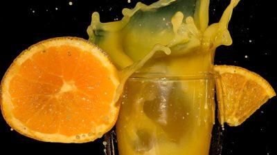 апельсин сок