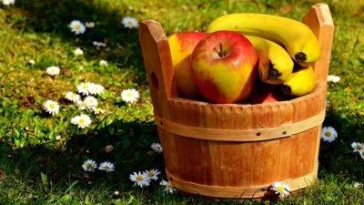 банани яблоки