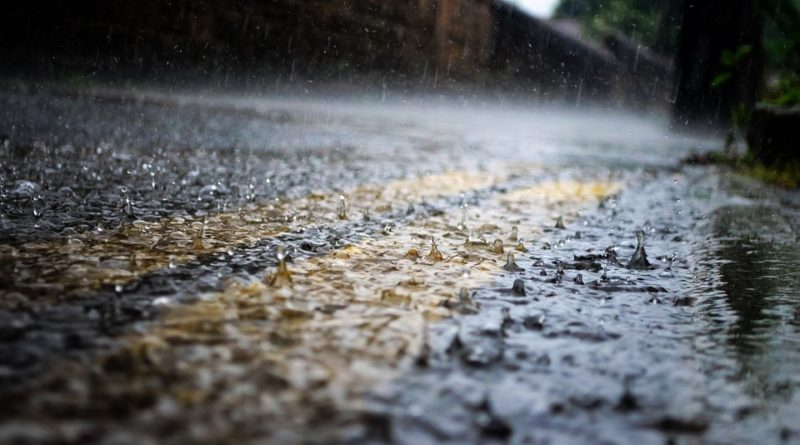 дождь дорога