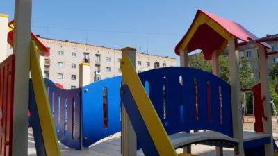 На Дніпропетровщині оновлюють дитячі майданчики (Фото)