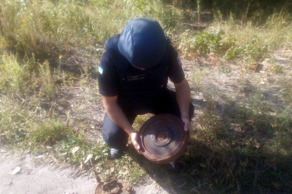 небезпечна знахідка на Дніпропетровщини