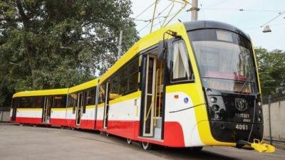 самый длинный трамвай_Одесс