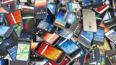 старые смартфоны
