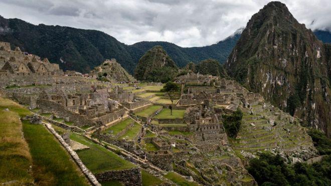 цитадель зниклої імперії інків