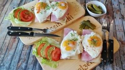 яйца завтрак