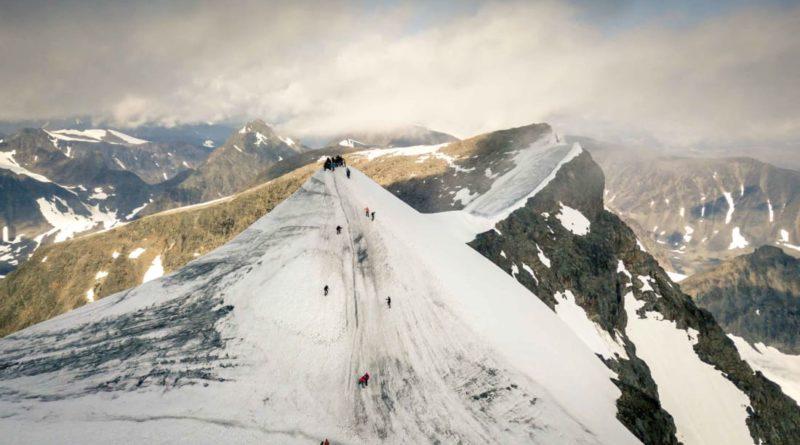 южный пик горы Кебнекайсе