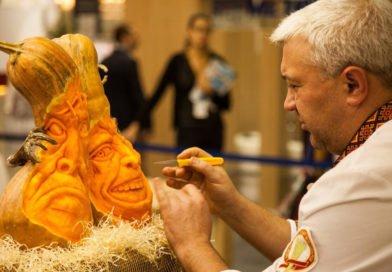 Шеф-повар из Днепра создает тыквенные шедевры (Фото)