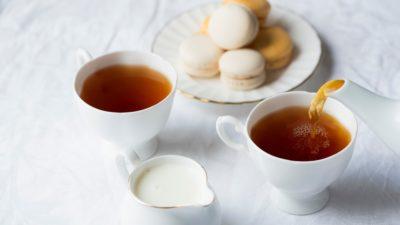 чай молоко