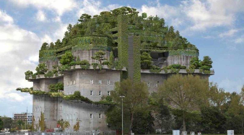 нацистский бункер в Гамбурге