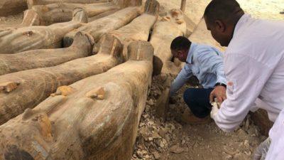 Находка века: в Египте обнаружили таинственные саркофаги