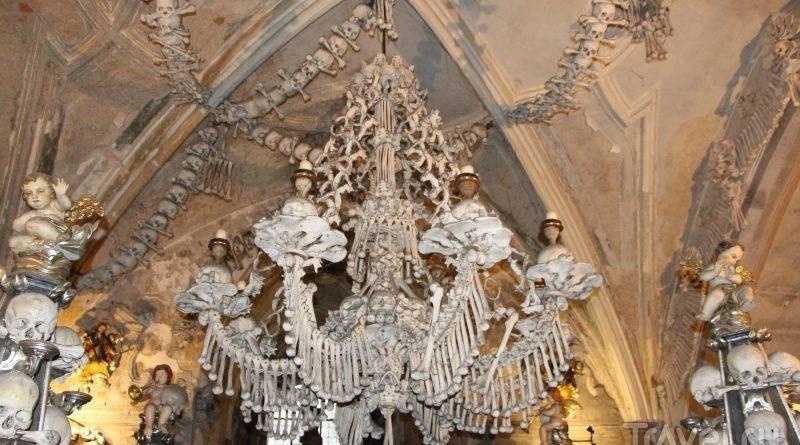 церковь из костей_Чехия