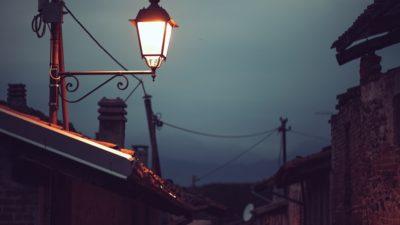 улица фонарь