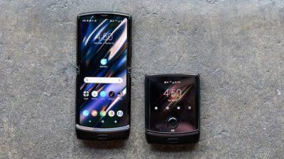 Motorola представила новую модель Razr с гибким экраном