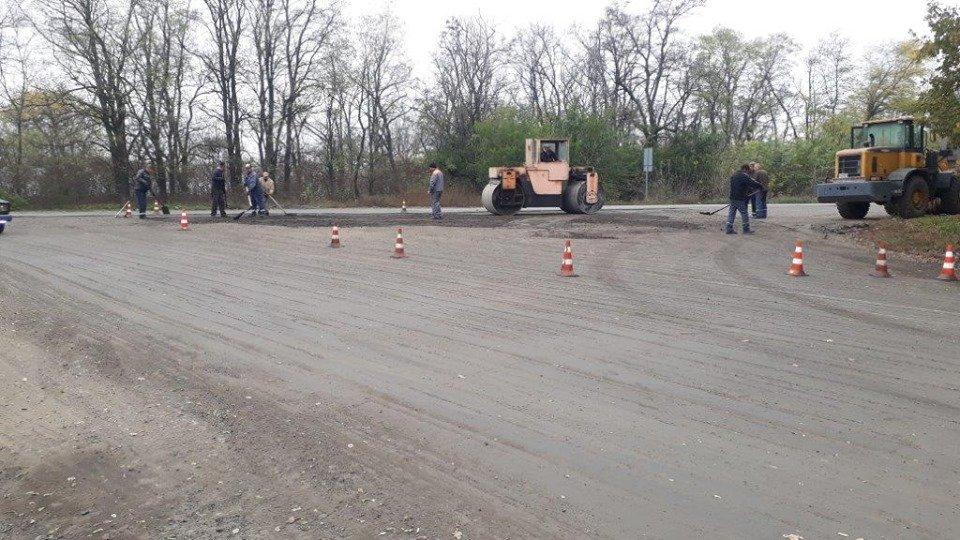 новая дорога в Днепровское