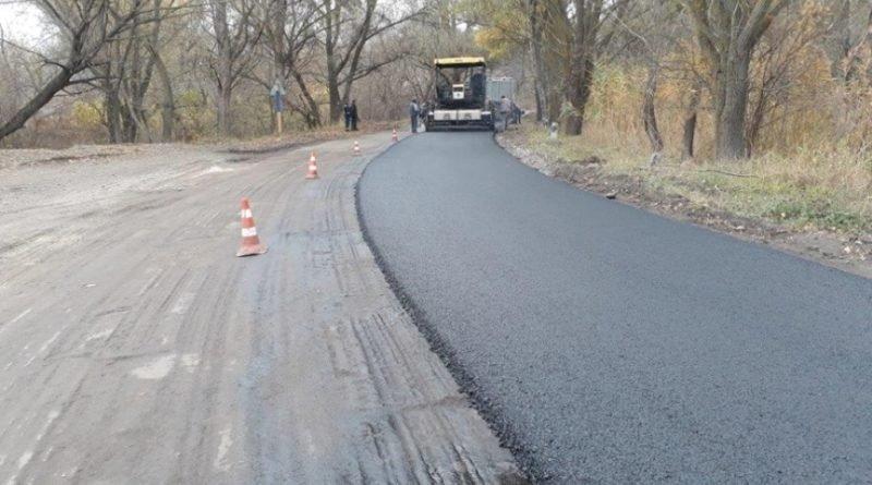 Новая дорога в Днепровском уже видна (фото)