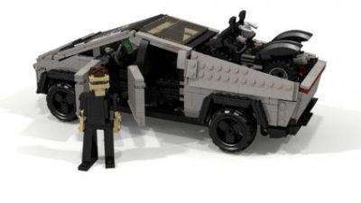 пікап Tesla з Lego