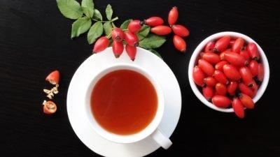 шиповник чай