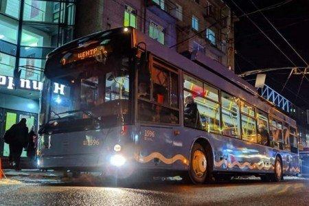 тролейбуси Дніпро