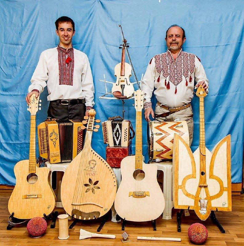 музичні інструменти з сірників
