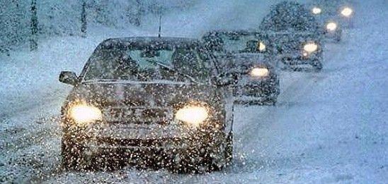 погода снег дорога