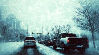 снег дорога зима, авто транспорт