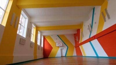 спортивна зала_школа 67_Дніпро